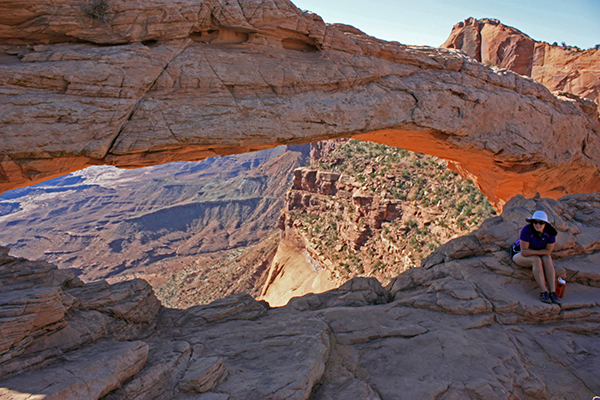 Mesa Arch, Island In The Sky district, Canyonlands National Park