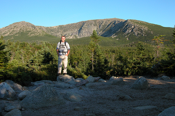 views along the Chimney Pond Trail