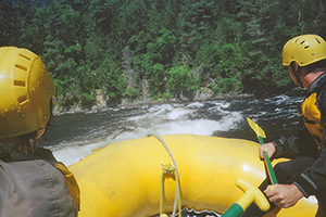 whitewater rafting the Kennebec River, Maine