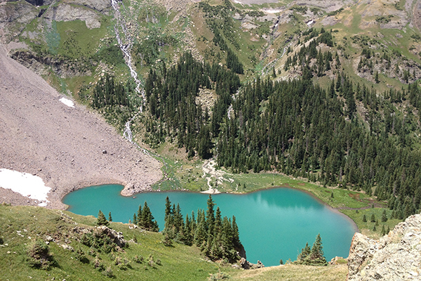 Blue Lakes outside of Telluride