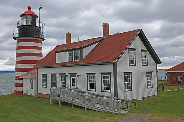 West Quoddy Head Light, Quoddy Head State Park