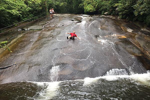 Sliding Rock, Pisgah State Forest