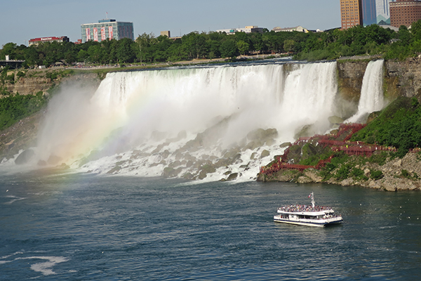 Niagara Falls (from the Canadian side), New York