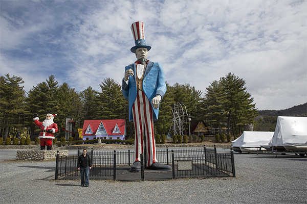 World's Tallest Uncle Sam, Lake George