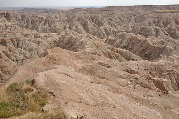 more Badlands National Park scenery