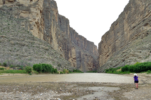 Santa Elena Canyon, Rio Grande, Big Bend National Park