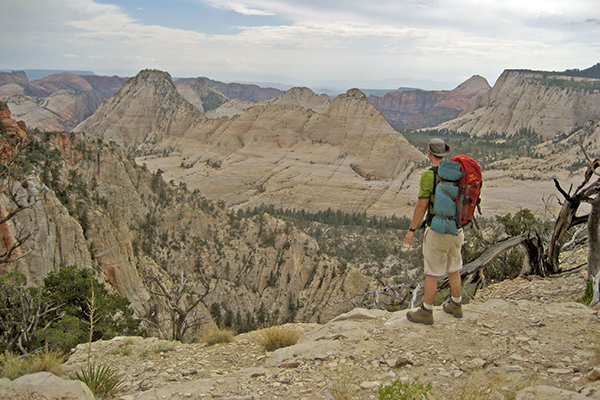 backpacking the West Rim Trail, Zion National Park