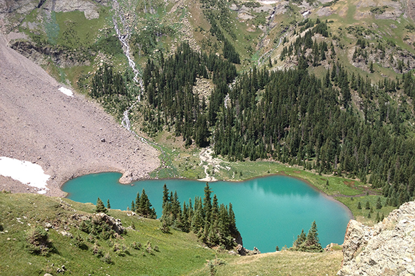 Lower Blue Lake, Uncompahgre National Forest, Colorado