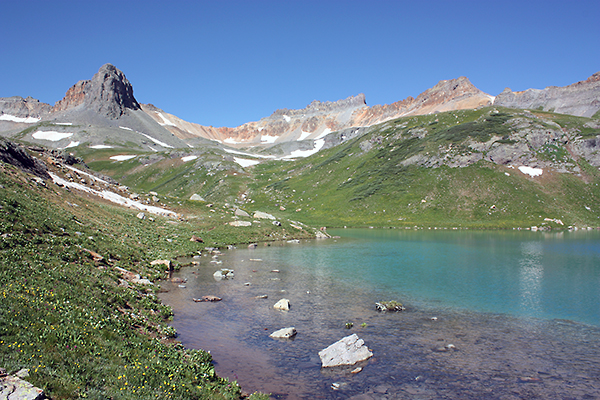 Upper Ice Lake, San Juan National Forest, Colorado