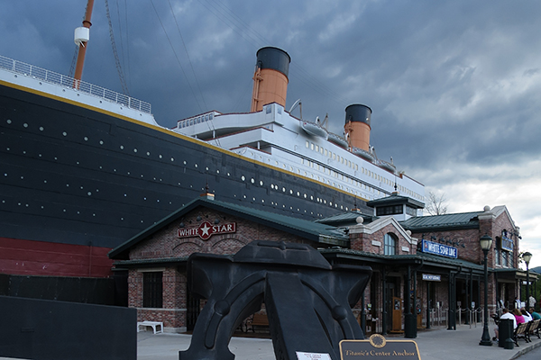 Titanic Museum, Pigeon Forge, Tennessee