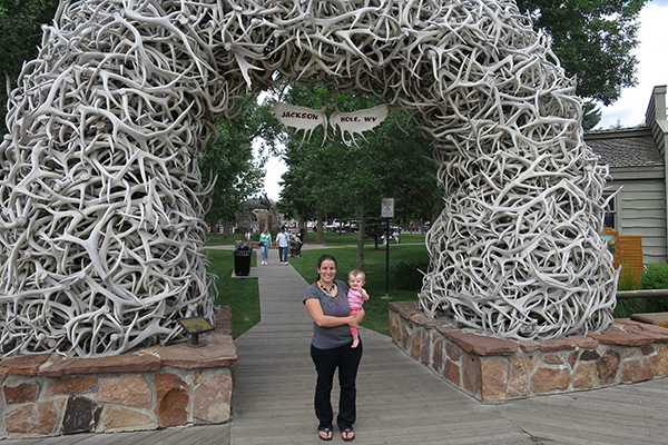 Town Square in Jackson, Wyoming