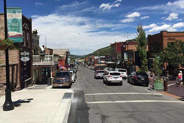 downtown Park City, Utah