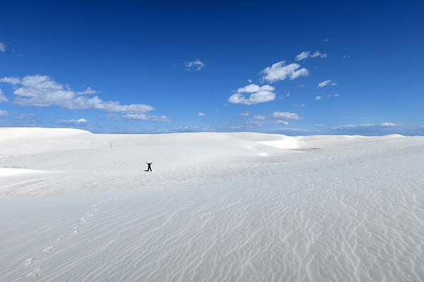 Alkali Flats Loop, White Sands National Monument, New Mexico