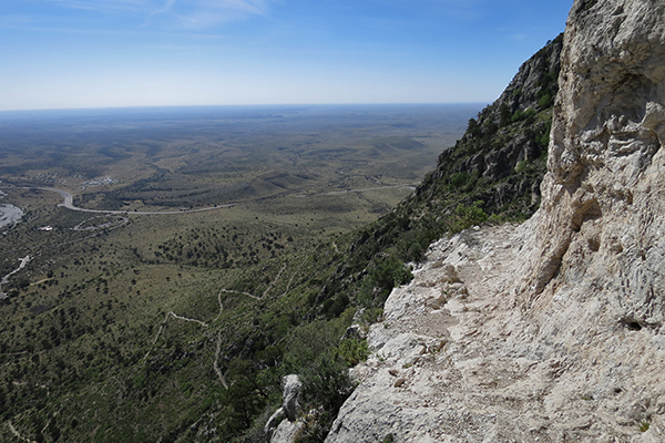 Guadalupe Peak Trail, Guadalupe Mountains National Park, Texas